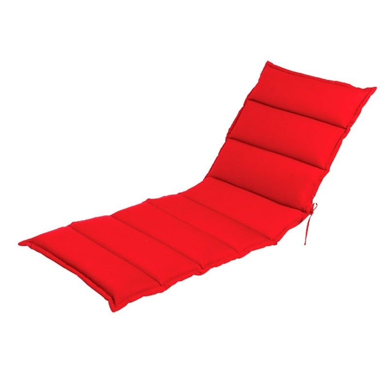 Chaise For Recent Outdoor Chaise Lounge Cushions (View 7 of 15)