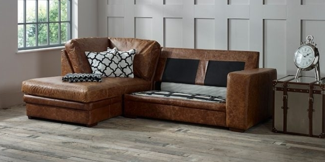Chaise Leather Sofa – Home And Textiles With Most Current Brown Leather Sectionals With Chaise (View 3 of 15)