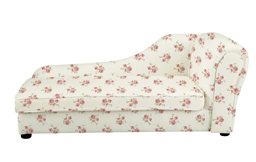 Chaise Longue – Rose Natural Intended For Well Known Children's Chaise Lounges (View 3 of 15)