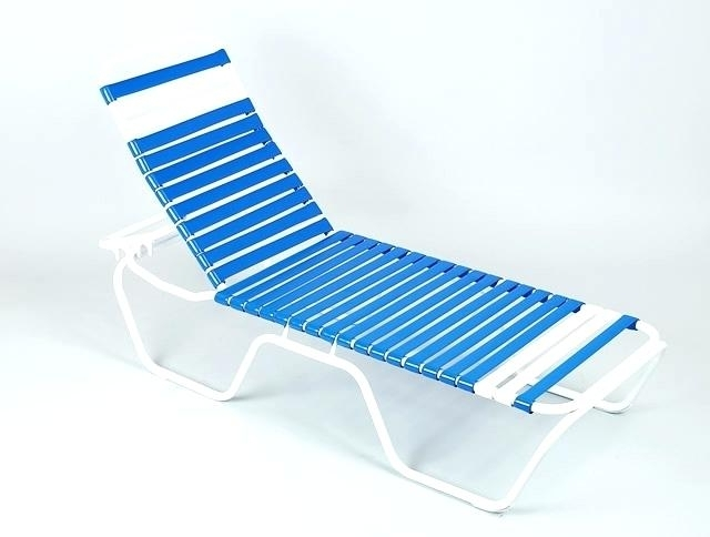 products aluminium chaise stripe lounge beach ostrich bluestripe lounger blue in beachkit