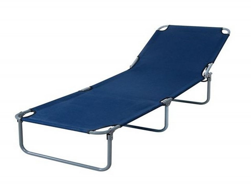 Chaise Lounge Beach Chairs Pertaining To Widely Used Folding Lounge Beach Chair With Footrest Best House Design (View 7 of 15)