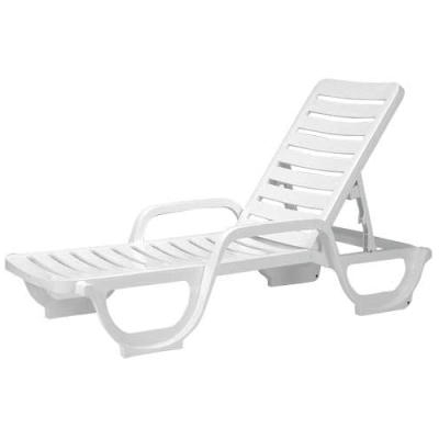 Chaise Lounge Beach Chairs With Regard To 2018 Grosfillex Bahia Adjustable Chaise Lounge – Wholesale Outdoor (View 9 of 15)