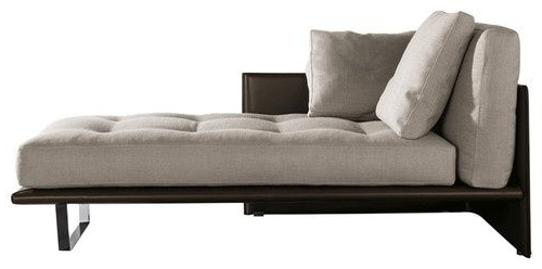 Chaise Lounge Beds In Recent Minotti Luggage Chaise Longue – Google Search (View 4 of 15)
