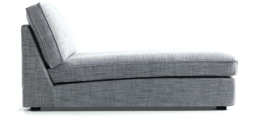 Chaise Lounge Chair Ikea A Chaise With A Removable Grey Cover Ikea Regarding Most Popular Ikea Chaise Lounges (View 3 of 15)