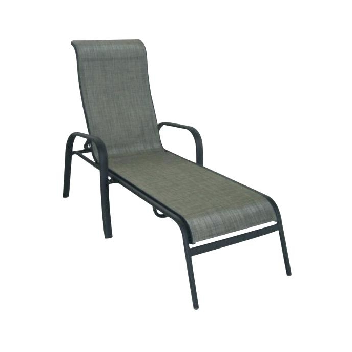 Chaise Lounge Chair Outdoor Long Chair Patio Chaise Lounge Chair Pertaining To Famous Outdoor Chaise Lounge Chairs At Walmart (View 4 of 15)