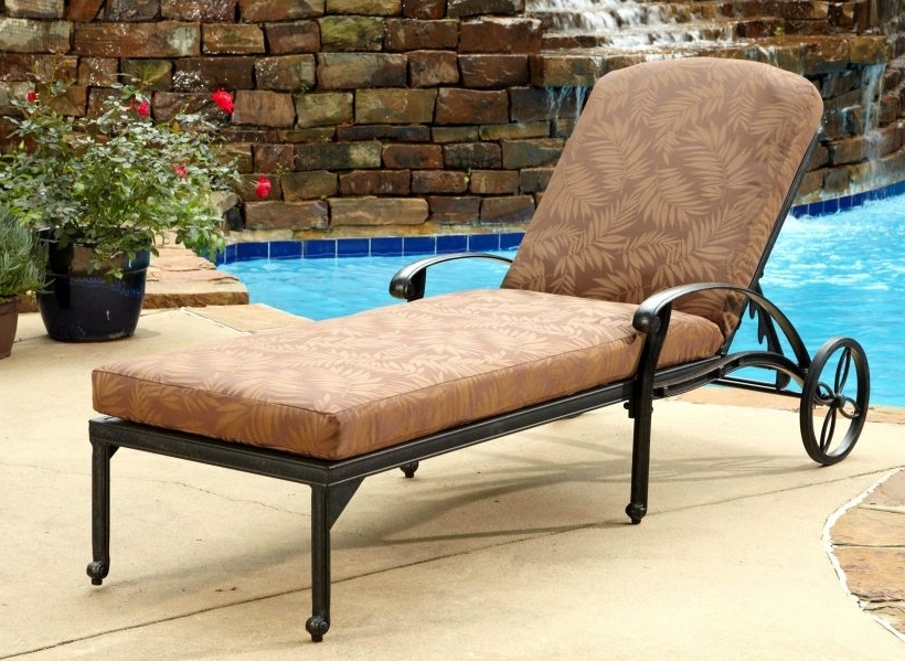 Chaise Lounge Chairs At Big Lots Regarding 2017 Brilliant Patio Lounge Chairs Outdoor Furniture Outdoor Chaise (View 6 of 15)