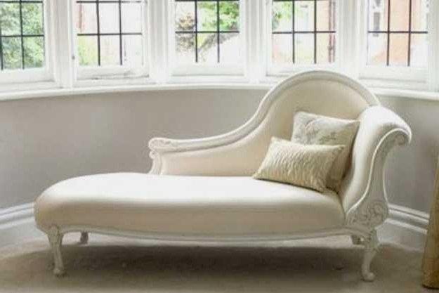 Chaise Lounge Chairs For Living Room In Favorite White Chaise Lounge Chairs (View 4 of 15)