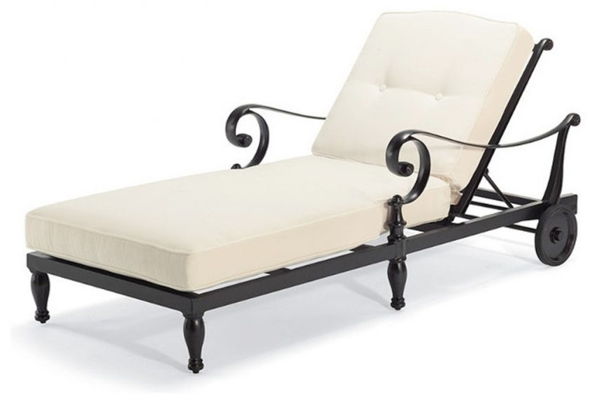 Chaise Lounge Chairs With Cushions Regarding Current Outdoor Chaise Lounge Chair Cushions Clearance (Lovely Cushions (View 2 of 15)