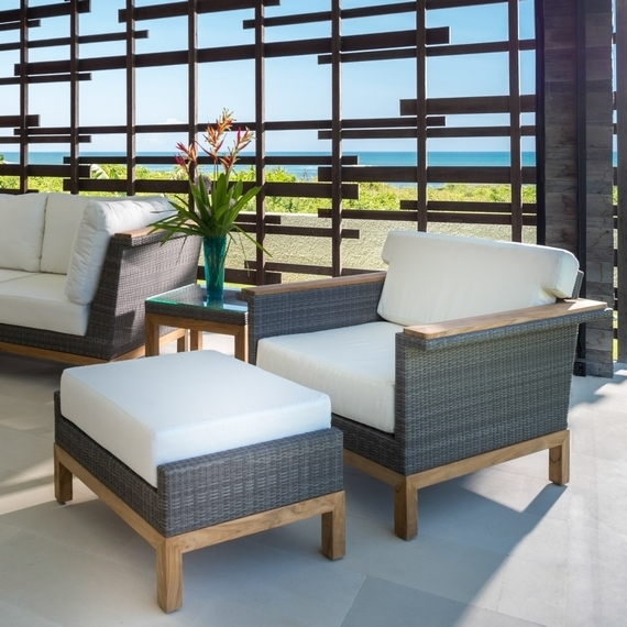 Chaise Lounge Chairs With Ottoman With Most Recent Kingsley Bate: Elegant Outdoor Furniture (View 7 of 15)