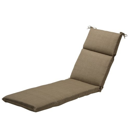 Chaise Lounge Cushions Outdoor: Amazon Intended For 2018 Chaise Cushions (View 8 of 15)