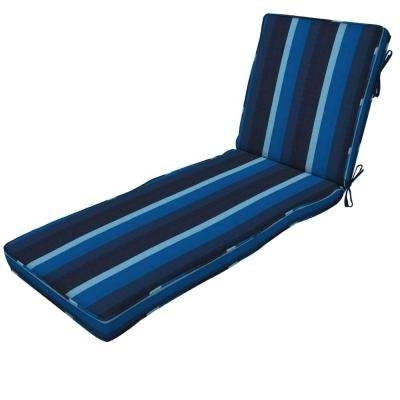 Chaise Lounge Cushions – Outdoor Cushions – The Home Depot Throughout Favorite Outdoor Chaise Lounge Cushions (View 6 of 15)