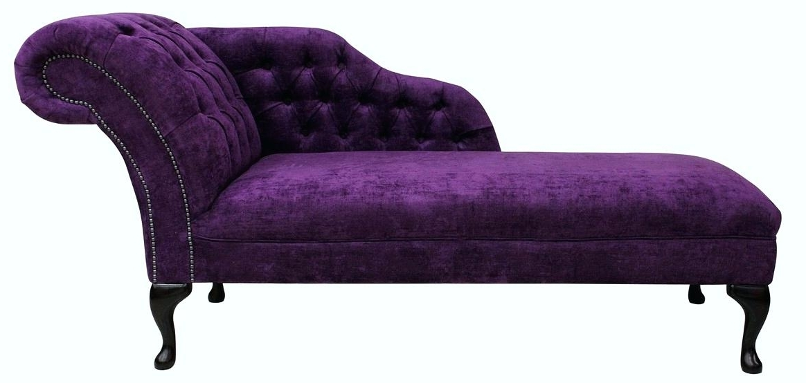Chaise Lounge Purple Chesterfield Chaise Lounge Day Bed Amethyst Throughout Most Up To Date Purple Chaise Lounges (View 2 of 15)
