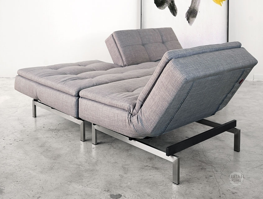 Chaise Lounge Sleepers Regarding Well Known Vogue Convertible Sofabed And Lounge Chair (View 2 of 15)