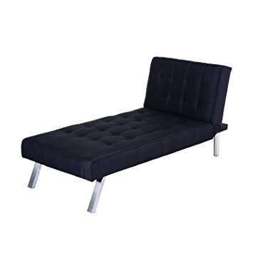 "Chaise Lounge Sleepers With Regard To Well Liked Amazon: Homcom 70"" Modern Reclining Chaise Lounge Sleeper Sofa (View 11 of 15)"