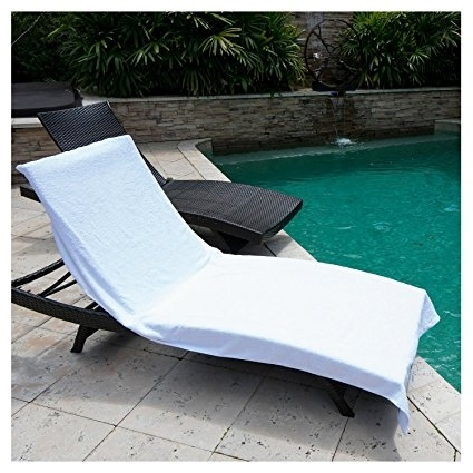 Chaise Lounge Towel Covers Regarding Most Current Amazon: Winter Park Towel Co (View 6 of 15)