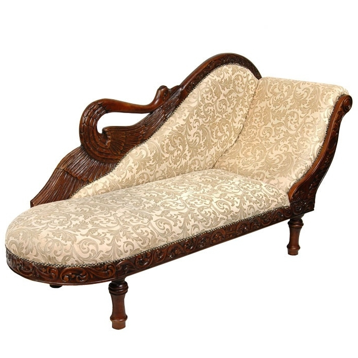 Chaise Lounges, Chaise With Regard To Damask Chaise Lounge Chairs (View 1 of 15)