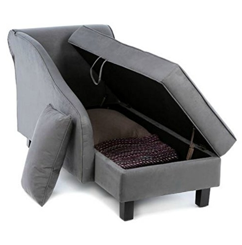 Chaise Lounges With Storage For Well Liked Storage Chaise Lounge Furniture – Foter (View 3 of 15)