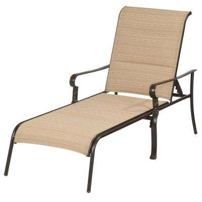 Chaise Outdoor Lounge Chairs Inside Most Recently Released Outdoor Chaise Lounges – Patio Chairs – The Home Depot (View 12 of 15)