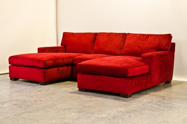 Chaise Sectional Sofas With Regard To Well Known Sectional Sofa Design: Top Ten Chenille Sectional Sofa With Chaise (View 5 of 15)