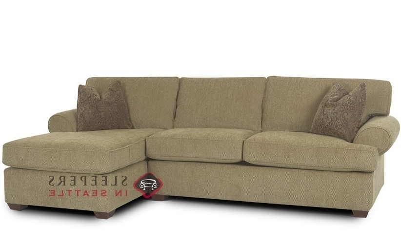 Chaise Sleeper Sofas With Current Customize And Personalize Tacoma Chaise Sectional Fabric Sofa (View 4 of 15)