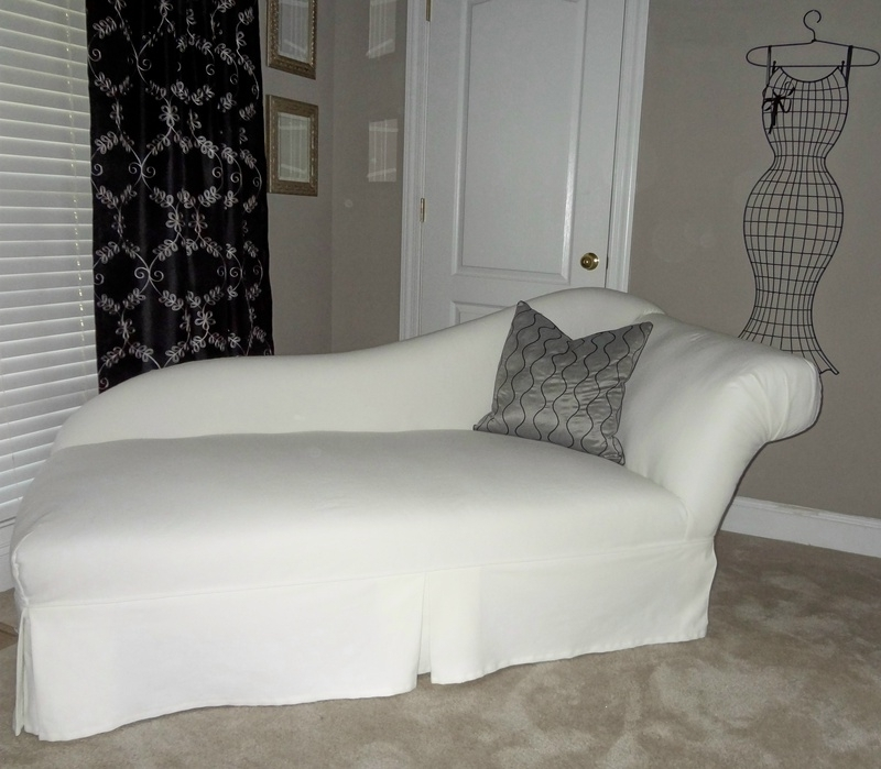 Chaise Slipcovers Regarding Popular Chaise Lounge Slipcovers (View 4 of 15)