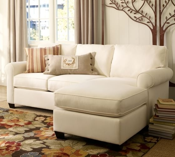 Chaise Sofa Sectionals Within Popular Buchanan Roll Arm Upholstered Sofa With Reversible Chaise (View 5 of 15)