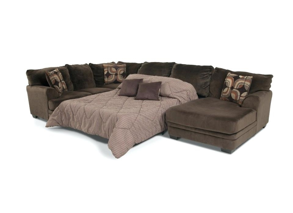 Chaise Sofa Sleepers Inside 2018 Sectional Sleeper Sofa With Chaise (View 4 of 15)