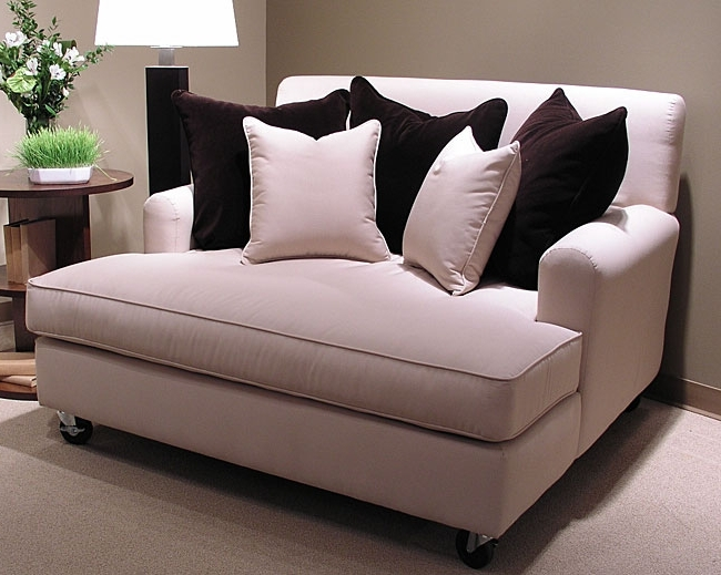 Chaise Sofa With Regard To Most Recently Released Chaise Loveseats (View 3 of 15)