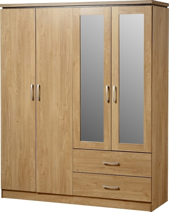Featured Photo of Wardrobes 4 Doors