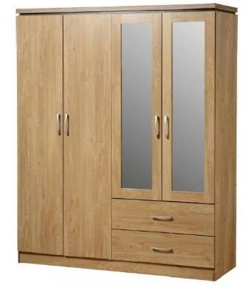 Featured Photo of 4 Door Wardrobes