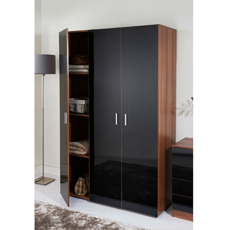 Cheap 3 Door Wardrobes Pertaining To Most Popular Hugo 3 Door Wardrobe (View 4 of 15)