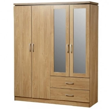Cheap 4 Door Wardrobes With Regard To 2017 Wardrobes (View 7 of 15)