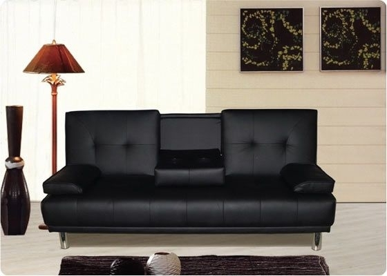 Cheap Black Sofas Intended For Most Recently Released Sofa (View 2 of 10)