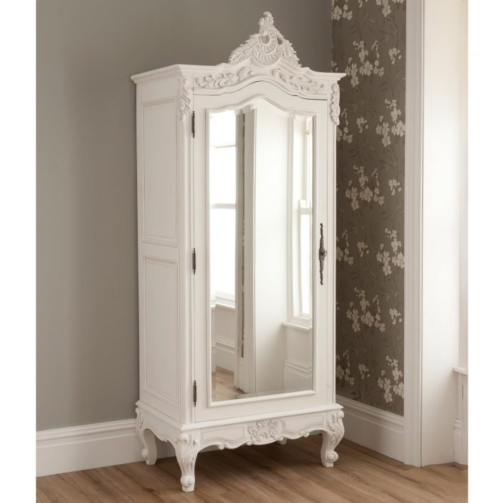Cheap French Style Wardrobes Throughout Fashionable French Style Wardrobes Cheap Wardrobe Doors White Armoires In Many (View 8 of 15)