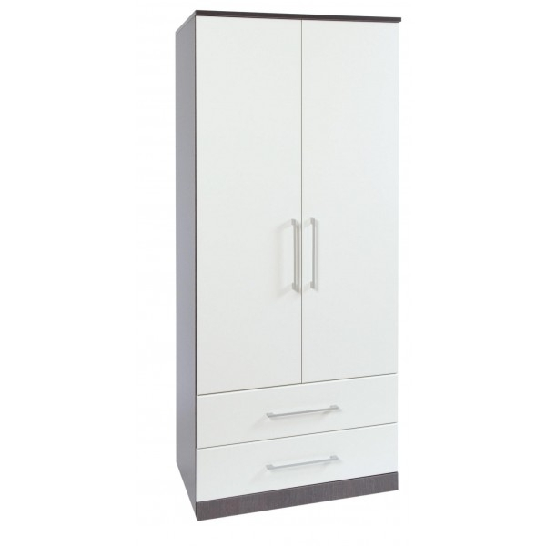 Cheap Jade Furnishers Havana White 1 Door Wardrobe For Sale Within Newest Cheap Wardrobes With Drawers (View 2 of 15)