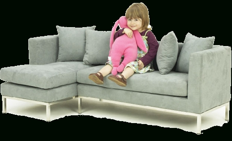 Cheap Kids Sofas Regarding Current Ha! Little Kids Sectional Sofa (View 3 of 10)