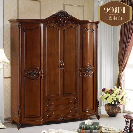 Cheap Solid Wood Wardrobes In Famous Impressive Solid Wood Wardrobes Buy Solid Wood Wardrobe Closet (View 3 of 15)