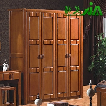 Cheap Solid Wood Wardrobes Regarding Most Current Buy Ai Jubilee Solid Wood Furniture Wood Wardrobe Closet Clothes (View 4 of 15)