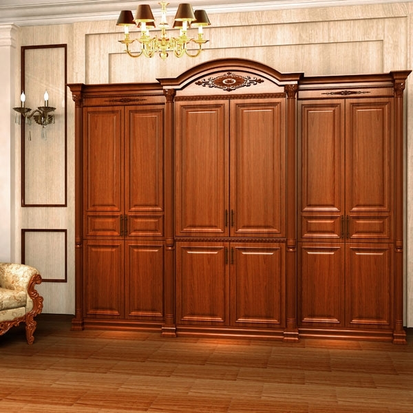 Cheap Solid Wood Wardrobes With Regard To Well Liked Lovable Solid Wood Wardrobes China Teak Wood Wardrobe China Teak (View 1 of 15)