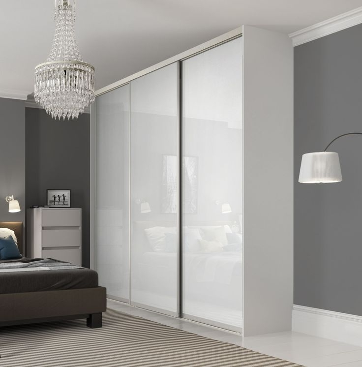 Cheap White Wardrobes Sets In Preferred Bedroom : Glass Wardrobe Doors Sliding Ideas Bedroom Furniture S (View 5 of 15)