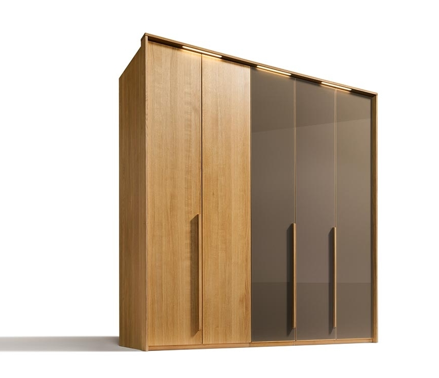 Cheap Wood Wardrobes Throughout 2018 Traditional Luxury Solid Wood Wardrobes – Team 7 Soft At Wharfside (View 6 of 15)