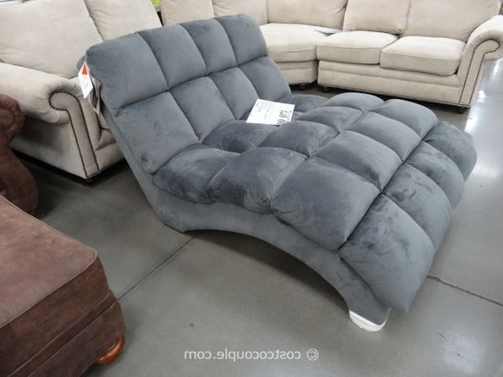 Chic Costco Chaise Lounge Emerald Home Boylston Double Fabric Intended For Well Known Costco Chaise Lounges (View 6 of 15)