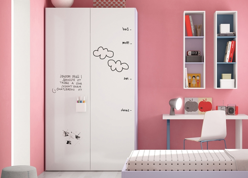 Childrens Bedroom Wardrobes Inside Best And Newest Childrens Pink Wardrobes (View 5 of 15)