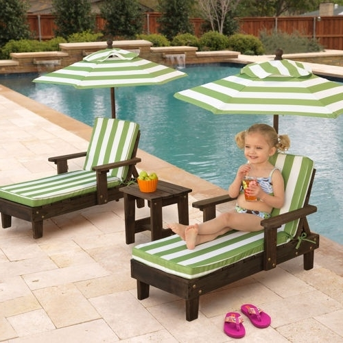 Children's Outdoor Chaise Lounge Chairs Throughout 2018 27 Best Children's Deckchairs And Outdoor Chairs Images On (View 2 of 15)