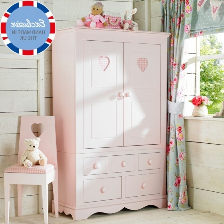 Childrens Pink Wardrobes In Fashionable Lovely Pink Childrens Wardrobe – Badotcom (View 6 of 15)