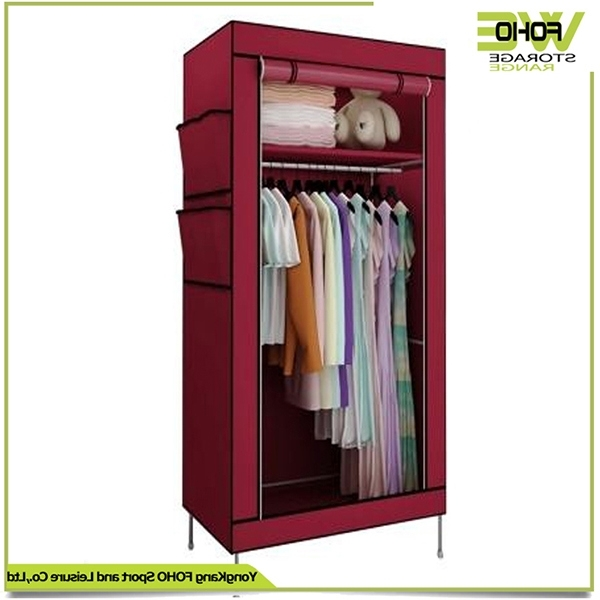 China Bedroom Foldable Storage Cabinet Small Cheap Discount Pertaining To Fashionable Discount Wardrobes (View 8 of 15)