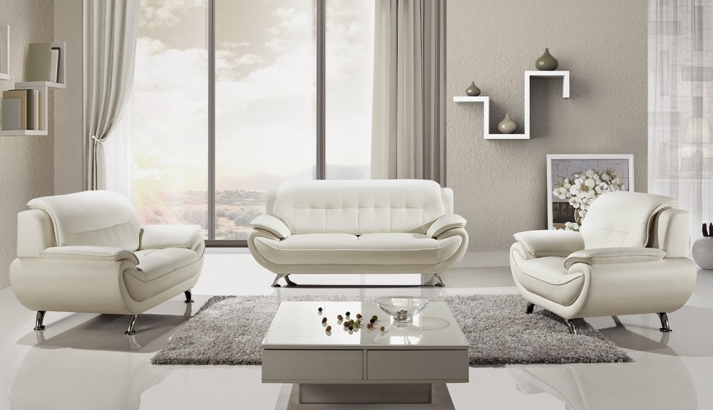 Cintascorner Empress White Inside Widely Used Off White Leather Sofas (View 2 of 10)