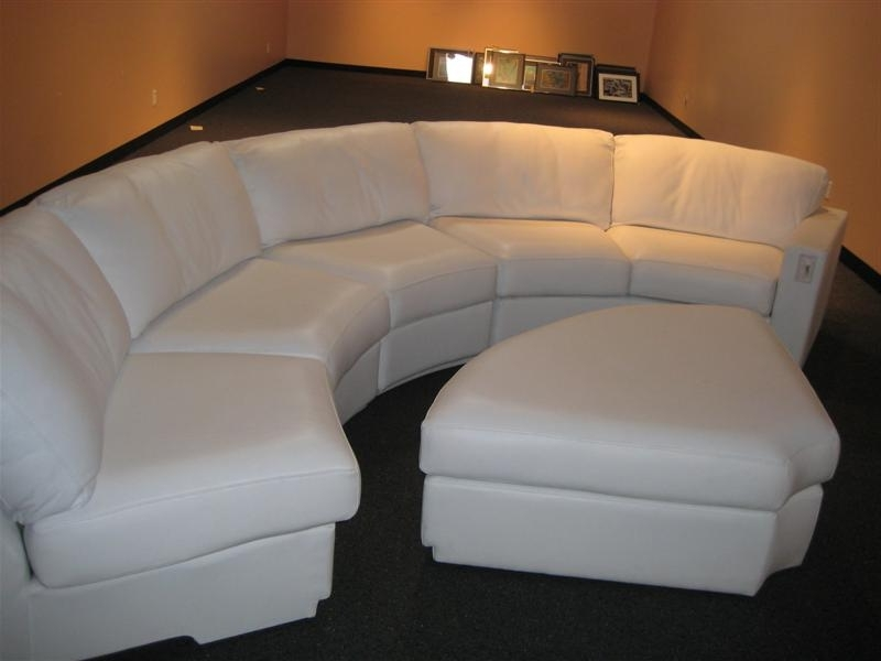 Circular Sectional Sofas In Most Popular Ideas For Decorate With A Curved Sectional Sofa — Cabinets, Beds (View 3 of 10)