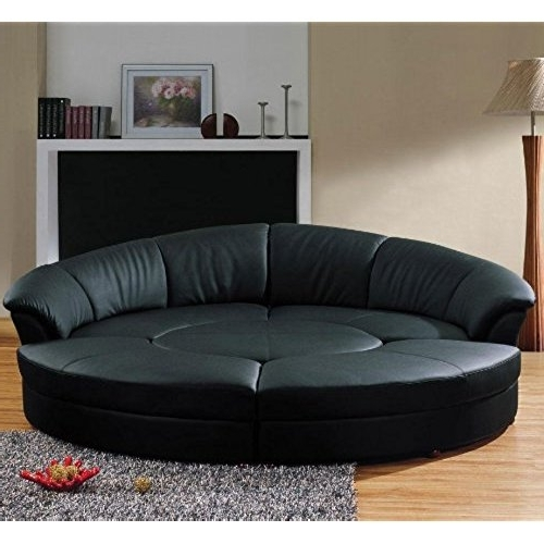Circular Sofa Chairs Pertaining To Most Up To Date Round Sofa Chair: Amazon (View 7 of 10)
