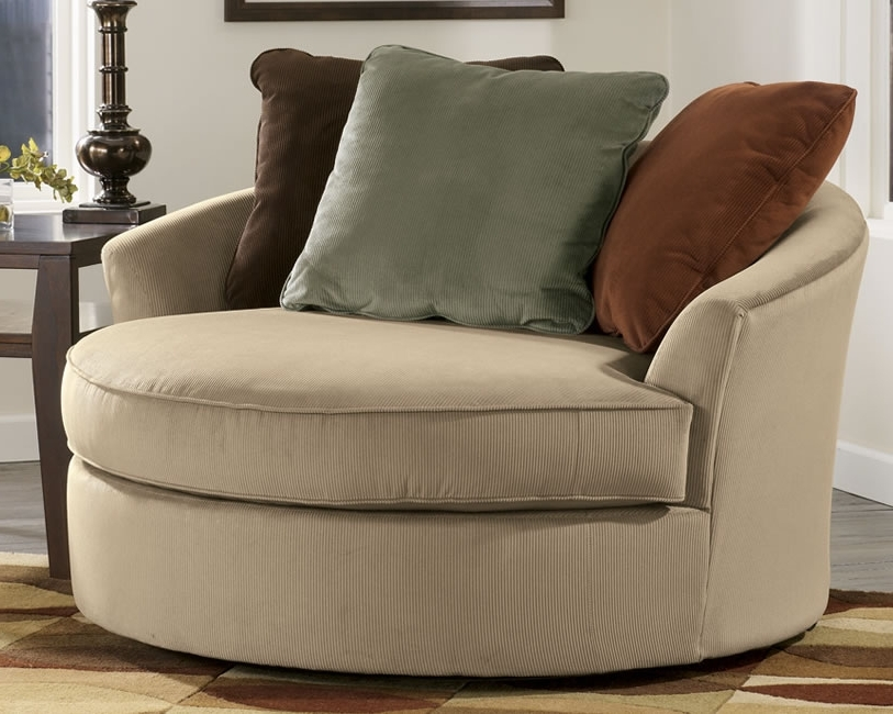 Featured Photo of Circular Sofa Chairs